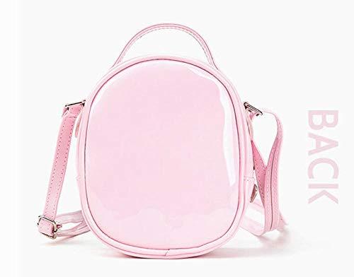 Schoudertas voor kinderen van PU-leer voor meisjes schoudertas van doorzichtige laktas
