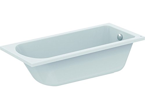 Ideal Standard Körperform-Badewanne Hotline neu, 1600x700x465mm, Weiß, K274501