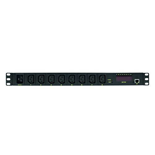 LogiLink Professional PDU8P01 Hochwertige IP 19