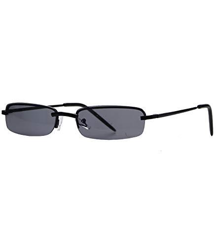 Caripe sportliche Herren Sonnenbrille rechteckig getönt + verspiegelt, herso (One Size, Modell 1 schwarz smoke getönt)