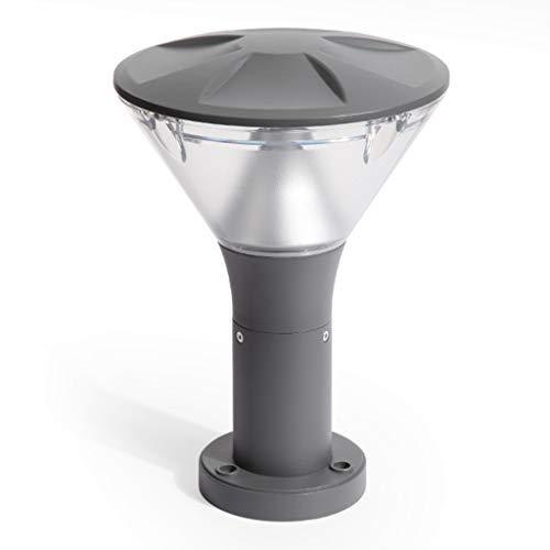 Buitenverlichting paallichten lantaarnpaal lamp-gazonlamp buitenshuis waterdichte spleten tuinlamp deurlamp landhuis wandlamp postlamp