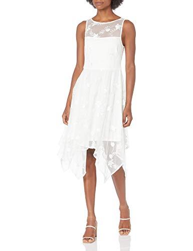 Adrianna Papell vestido de pañuelo bordado para mujer