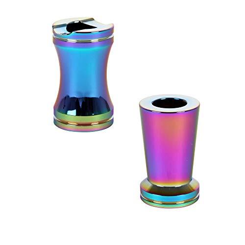 2x Gluttöter, Glutkiller aus Metall in Rainbow Farben (ICY). Premium Qualität und sehr Edel.