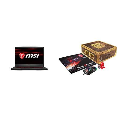 MSI GF65 Thin 10SER-884XES - Ordenador portátil Gaming de 15.6' FullHD 144Hz (Intel Core...