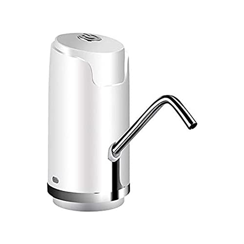 WGHH Botella de Agua Bombeo: Ajuste de Carga USB para Beber Agua Bomba eléctrica automática portátil para la Oficina de Cocina Camping Camping Interruptor para jarras