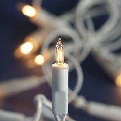 Mini Lichterkette 10er weiss für Innenbeleuchtung Leuchtmittel klar