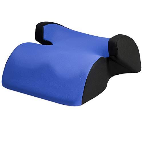 Deuba Kindersitz Autositz Techno Sitzerhöhung Gruppe 2/3 ab 3 bis 12 Jahren Bezug Waschbar Kinderautositz Blau