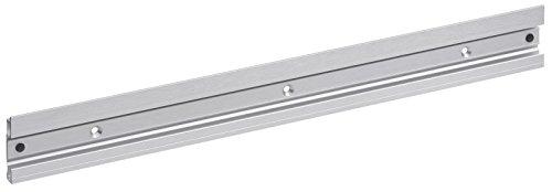 Meister Gerätehalterleiste 500 mm - Aluminium - Leichte Montage / Werkzeughalter / Gerätehalter für Gartengeräte / Stabile Werkzeugleiste für die Wand-Montage / 9953460