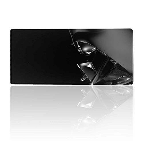 Mouse Pad XXL Darth-Vader,Mousepad with Stitched Edges & Non-Slip Rubber Base-High Speed Surface-Laptop Desk Pads-Computer Keyboard and Mice Combo Pad Mat 15.7X35.4