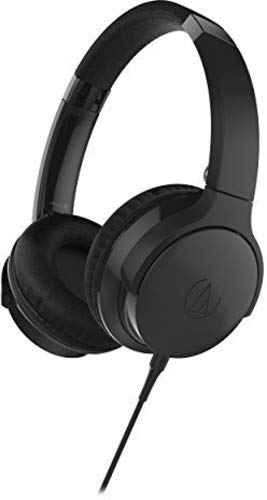 Audio-Technica ATH-AR3iSBK - Auriculares portátiles, Color Negro