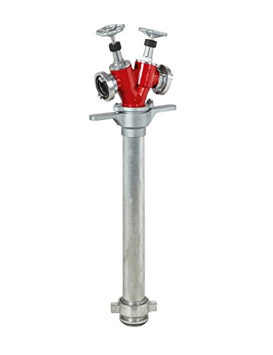 Miko® Standrohr DN 80 mit zwei C- Storz Abgängen - Kopf drehbar
