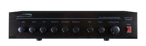 Best Buy! New-120W PA Mixer Power Amplifier w/ 6 Input - SPC-PMM120A