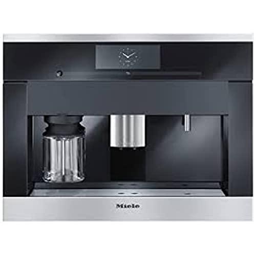 Máquina de café empotrable modelo CVA 6800 EDST CLST, con tecnología CupSensor, color negro, 47,5 x 59,5 x 45,5 centímetros (referencia: Miele 29680050P)