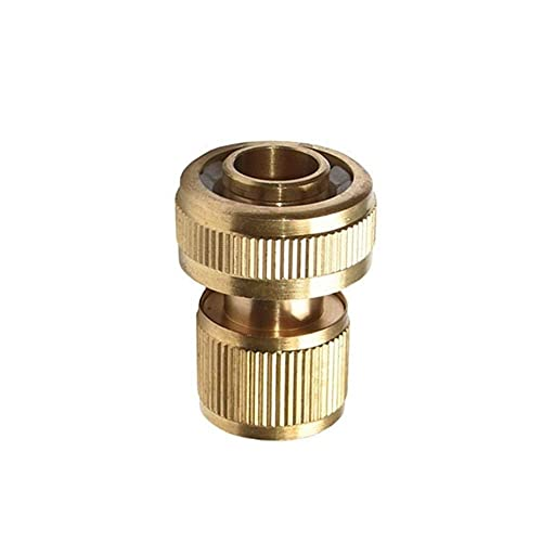 """Agricultural Irrigation Tools 3/4"""" Hose Quick Connector Brass Waterstop Connector Garden Tap Garden Irrigation 20mm Hose Connector Pure Copper Adapter 1pcs Easy to use, Fast and Easy"""