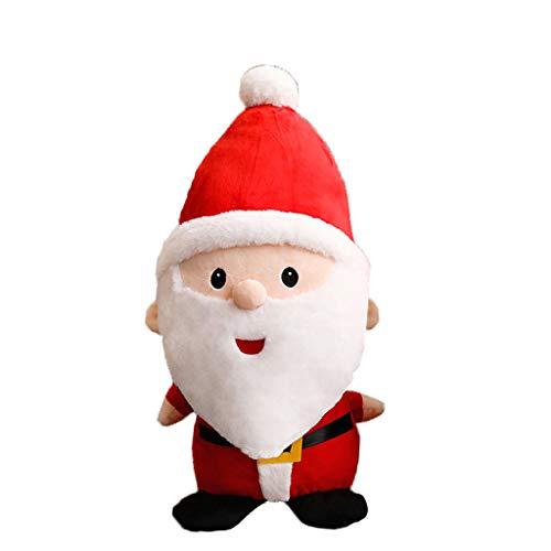 Tvvudwxx Weihnachtsmann Plüschtier Kuscheltier Weich Stofftier Kuscheltier Plüschtier Weihnachten Geschenk Für Baby Kinder Spielzeug