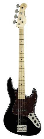 Sadowsky MetroExpress 21-Fret Vintage J/J - Cuerdas para bajo (4 unidades), color negro