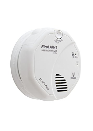 First Alert BRK CO511B Carbon Monoxide (CO) Detector Wireless Interconnected with Voice and Location