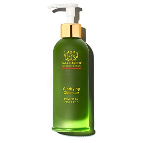 NEW Tata Harper Limited Edition Clarifying Cleanser, Blemish, Oil-Control Face Wash, 100% Natural, Made Fresh in Vermont, 125ml