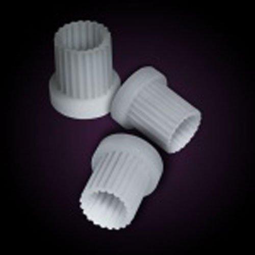 Plástico nailon/20:21 dientes maletín con vasos estriados mango adaptador para Franke y Perrin y válvulas de cerámica Rowe cartuchos de macho de roscar