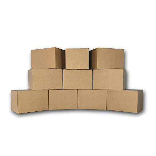 uBoxes 10 Medium Moving Boxes 18x14x12 Packing Cardboard Boxes