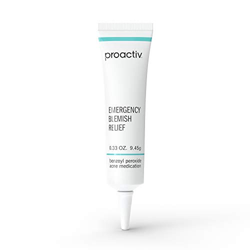 Proactiv Emergency Blemish Relief - Benzoyl Peroxide Gel - Acne Spot Treatment For Face and Body, .33 oz.