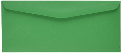 Quality Park Colored Envelope, Traditional, #10, Green, 25 per Pack (11135)