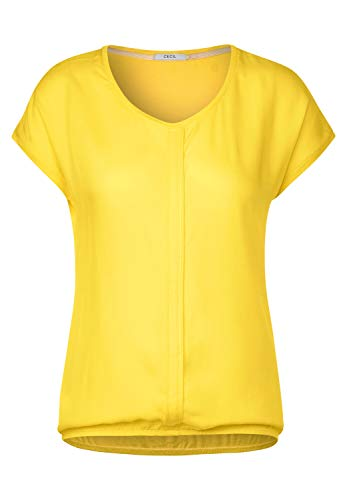 Cecil Damen 314729 Indra T-Shirt, Radiant Yellow, XX-Large