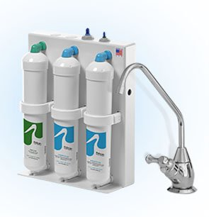 Pelican Water PDF-1500-BN 3 Stage Undercounter Drinking Water...