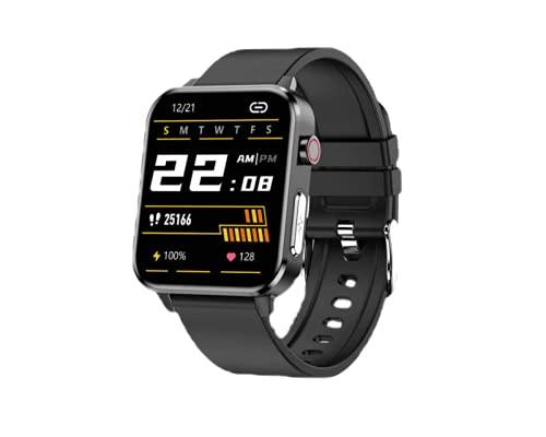 Relógio SmartWatch Inteligente Original E86 Lemfo - (Preto) Com Eletro Cardiograma que Fecha o Curso e Proporciona uma Medida mais Exata
