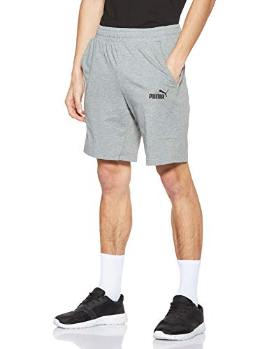 PUMA ESS Jersey Short Homme Medium Gray Heather FR : XL (Taille Fabricant : XL)