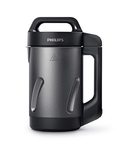 Philips HR2204/80 - Licuadora térmica, negra, 1,2 litros, 1000 vatios