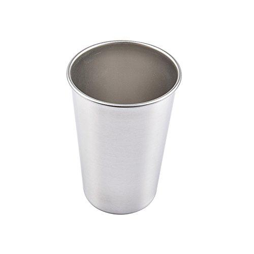 oobest 30/70/180/320 ML Tazas de Metal de Acero Inoxidable Picnic de Camping Vasos apilables Interior Uso en Exteriores