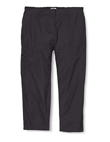 Craghoppers Kiwi II Pantalon Long Jambe, Femme, Kiwi II Long Leg, Noir, Taille