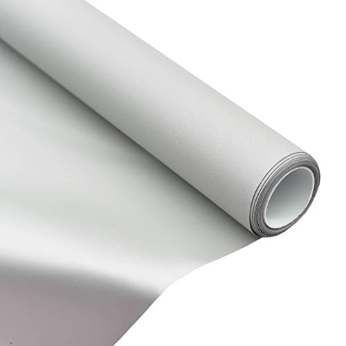 vidaXL Leinwandtuch Beamer Leinwand Tuch Leinwandstoff Leinwandfolie Projektor Folie Projektionsfolie Stoff Metallisch PVC 120