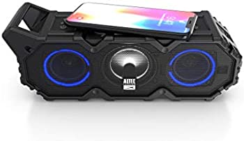 Altec Lansing LifeJacket XL Jolt with Lights Built In Qi Wireless Charger