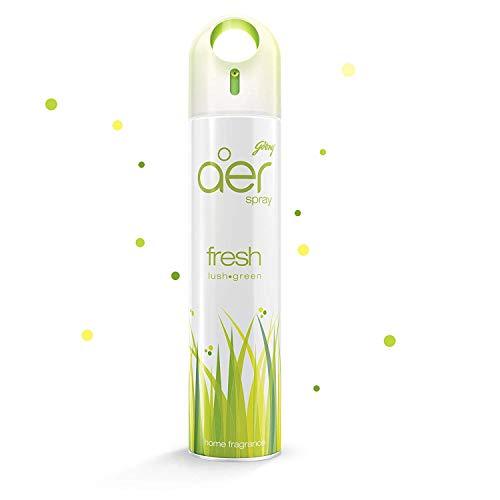 Godrej aer Home Air Freshener Spray - 270 ml (Fresh Lush Green)