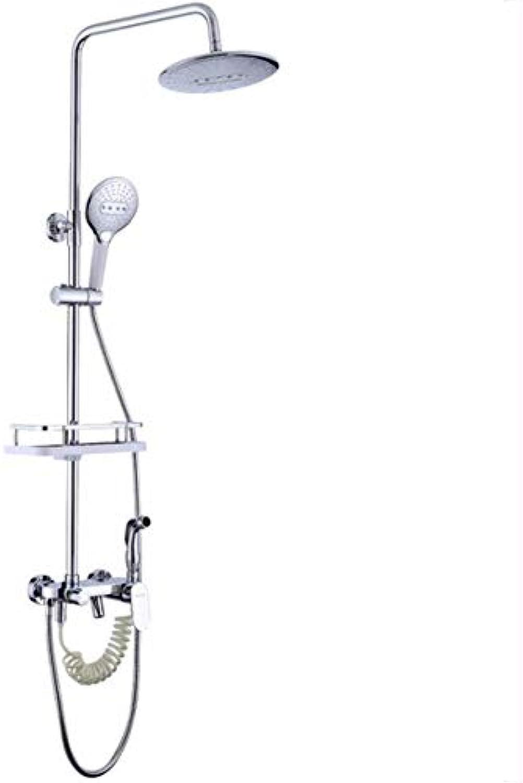 ZPSPZ-Duschsysteme Badezimmer Dusche Wasserhahn Set Kalt - Und Warmwasser Duschen Duschen Wasserhahn DREI Mischen Bad - Set Top - Dusche