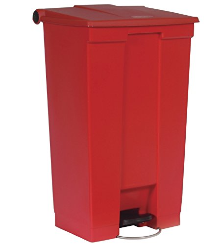 Rubbermaid Step-On 6146 - Cubo de Basura Red