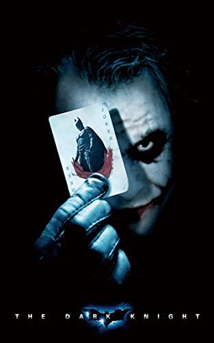 Póster de The Dark Knight Joker Movie 380 x 580 mm, impresión decorativa de regalo