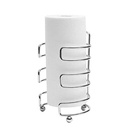 YAJIWU Portarrollos de papel higiénico de acero inoxidable, soporte para papel higiénico para el baño
