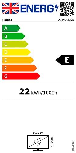 Philips 273V7QDSB – 27 Zoll FHD Monitor (1920×1080, 75 Hz, VGA, DVI, HDMI) schwarz - 16