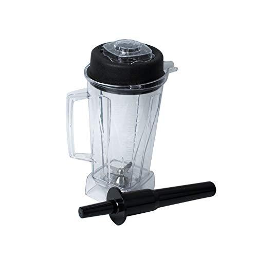 Poweka Behälter Ersatzteile für JTC OmniBlend Standmixer 2 L mit stößel und Messer