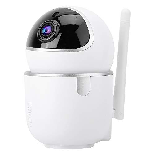 Cámara Vigilancia Mini Cámara Inalámbrica PTZ 1080P Cámara HD WiFi Security IP IP Cámara Monitor De Seguridad Tarjeta De Memoria Blanco