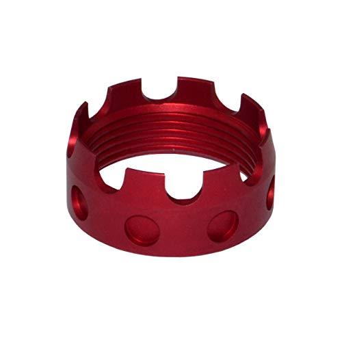 Vinyl Etchings Premium Crown Design 7075-T6 Aluminum CastIe Nut for