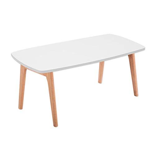ZHUSHI Beine Klappbarer Couchtisch Für Wohnzimmermöbel 2 Farben Rechteck Kleines Holz Side Center Sofa Holz Klapptisch Design (Color : 02)