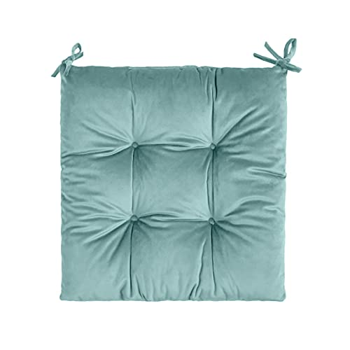 DSPKOhG Home Chair Cushion, 40 x 40 cm, Seat Cushion Set for Garden Chairs, Kitchen or Dining Chairs, Comfortable, UV-Resistant Indoor and Outdoor Chair Cover as Chair Pad