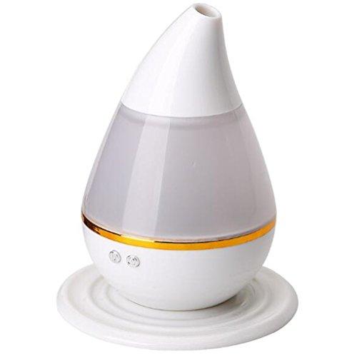 Abaobao - Humidificador ultrasónico con USB para aromaterapia, difusor de aceites esenciales, atomizador purificador de aire, vaporizador