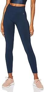 AURIQUE Sujetador para Deportes de Medio Impacto Mujer, Multicolor (Blue Zebra), S, Label:S