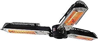 YIQQWS0910 Draagbare Kachel Keramische Ventilatorkachel,Outdoor Heater Opvouwbare Heater Stroomuitval Bescherming Plug in ...