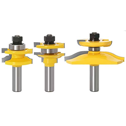 Myouzhen-Bits 12mm Schaft Rail Stile...